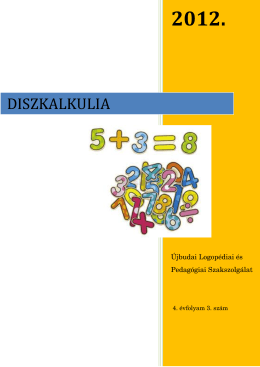 Diszkalkulia (ÚJ)