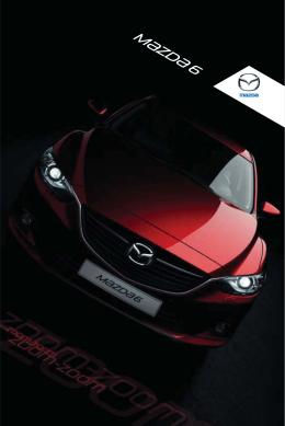Töltse le a Mazda6 termékkatalógust