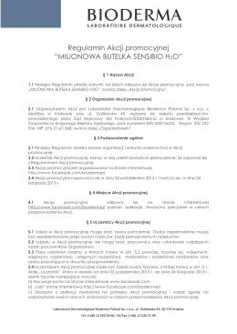 Regulamin konkursu dla studentów ASP w