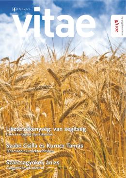 Lisztérzékenység: van segítség Szabó Csilla és Kurucz Tamás