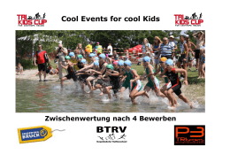 Cool Events for cool Kids