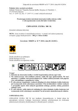 CF-XMHP - karta katalogowa