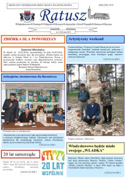 raport z ewaluacji problemowej - Samorządowe Przedszkole nr 1
