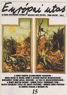 1994.2.szám - Európai Utas