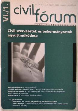 Civil szervezetek és önkormányzatok együttműködése