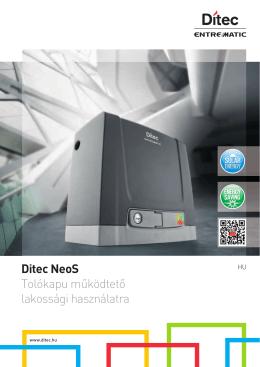 Ditec NeoS Tolókapu automatika