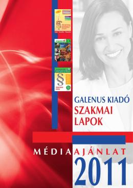 SZAKMAI LAPOK - Galenus Gyógyszerészeti Lap