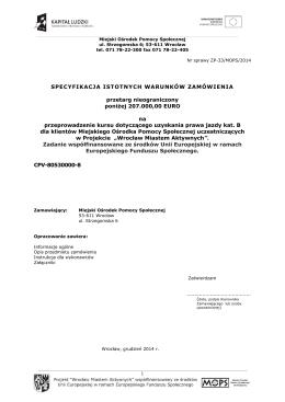 Zapytanie ofertowe - Gmina Brańsk, Wójt Gminy