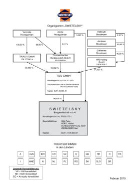 Konzernstruktur SWIETELSKY Februar 2015
