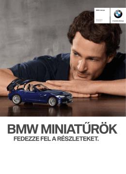 BMW MINIATŰRÖK