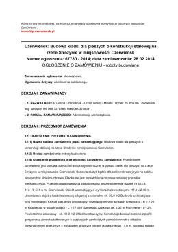Załącznik nr 9 dokumentacja projektowa bioz