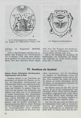 VI. Insekten als Symbol