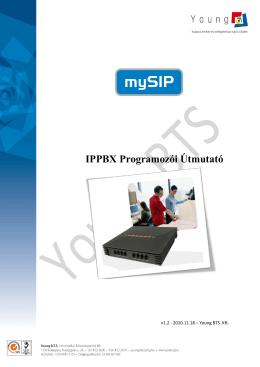 mySIP x50 IP PBX programozói útmutató v1.2