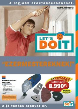 """EZERMESTEREKNEK!"""