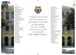 A Budapest X VI. Kerületi Szerb Antal Gimnázium végzős diákjai és
