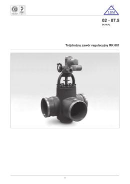 Katalog pomp hydraulicznych o zmiennej wydajności TXV
