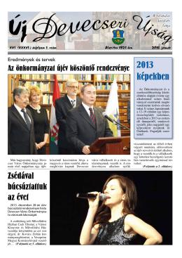 2013 képekben - Devecseri Városi Könyvtár és Művelődési Ház