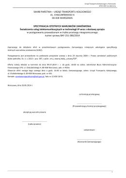 Pobierz załącznik - Starostwo Powiatowe w Będzinie