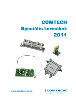 Speciális termék katalógus 2011