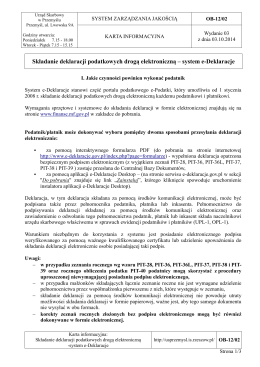 regulamin - Urząd Skarbowy w Pile