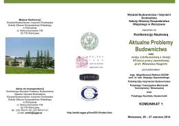 A. Ważniejsze publikacje I. Monografie, podręczniki, skrypty 1