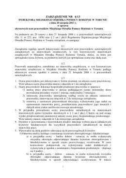regulamin podnoszenia kwalifikacji zawodowych przez