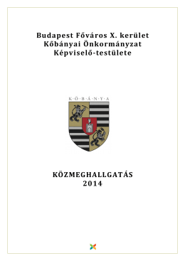 Tájékoztató füzet