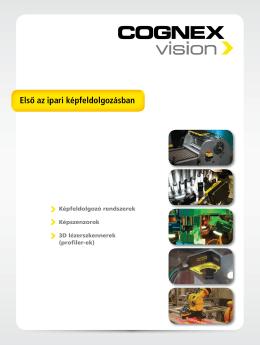 COGNEX: Első az ipari képfeldolgozásban - Falcon