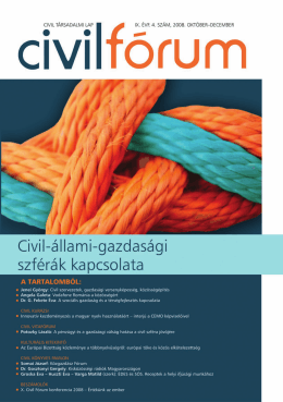 Civil Fórum 2008/4