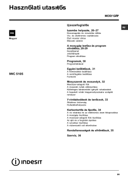 Indesit IWC 5105 mosógép