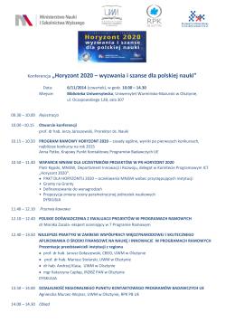 E-administracja na Mazowszu wyzwania i perspektywy