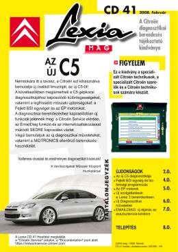 AZ ÚJ - Citroën Service