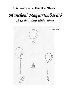 Müncheni Magyar Babaváró - Magyar Katolikus Misszió München