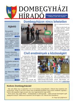 2014 08_Dombegyházi Friss_ver2.indd