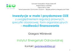 Rok szkolny 2014/15 Sylwester Gieszczyk Wymagania