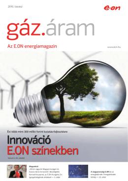 Innováció E.ON színekben