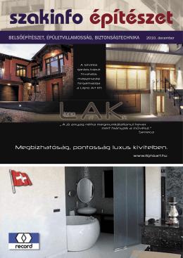 belsôépítészet, épületvillamosság, biztonságtechnika