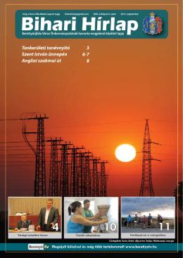 Bihari Hírlap 2013. szeptemberi száma