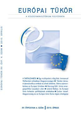 Európai Tükör 2010/04. szám