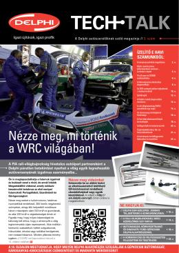 Nézze meg, mi történik a WRC világában!