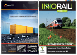 Railway Engineering in Hungary