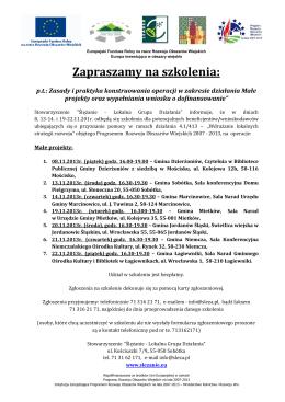 W dniach 26-28 maja 2014 roku w Jastrzębiej Górze obradowało