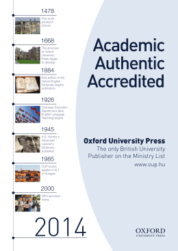 Academic Authentic Accredited