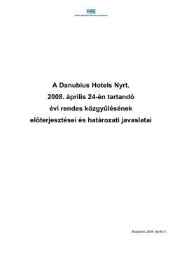 DAH080408OR01H.pdf - Danubius Hotels Group