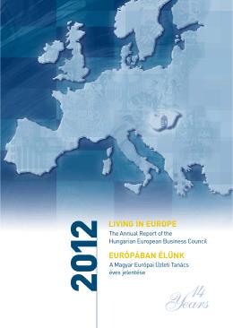 A Magyar Európai Üzleti Tanács