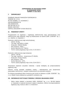 Sprawozdanie merytoryczne 2010