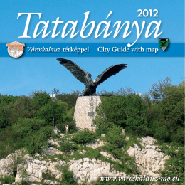 Tatabánya Basin is rich in natural resources, and it is