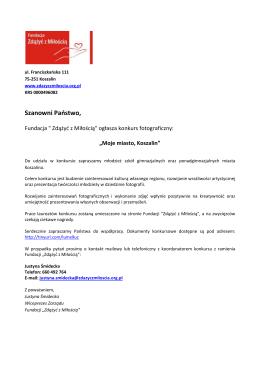 """""""Zdążyć z pomocą"""" PKO S.A łO/Warszawa"""