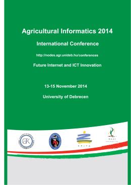 final programme - Debreceni Egyetem