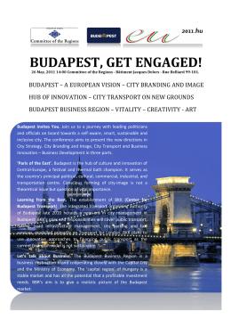 BUDAPEST, GET ENGAGED! - Budapest Business Region
